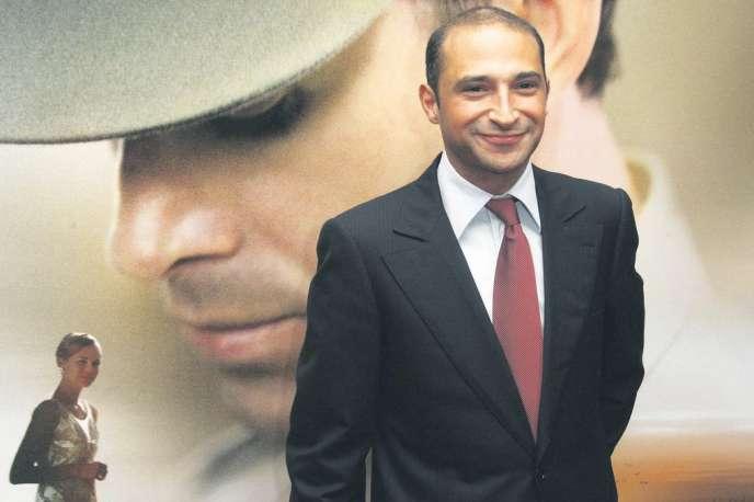 Thomas Fabius, l'aîné du ministre des affaires étrangères, en 2007, lors de la première du film