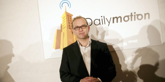 Cédric Tournay, PDG de Dailymotion.