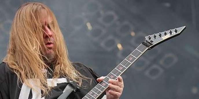 Jeff Hanneman, en août 2010.