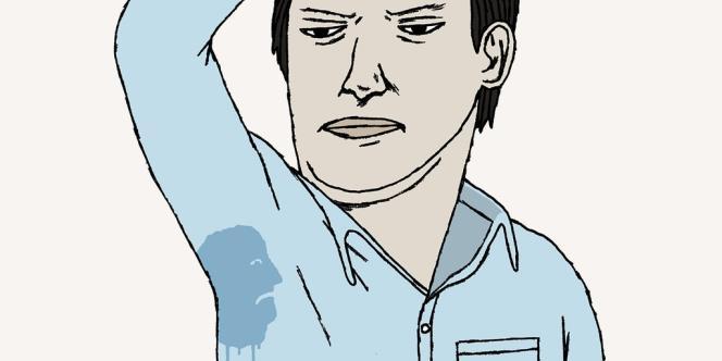 L'homme ou la femme victime d'auréoles apparaîtra souffrir à la fois d'un stress intense et d'un manque d'hygiène criant.