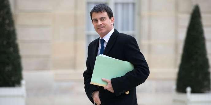 Manuel Valls, ministre de l'intérieur, le 8 avril.