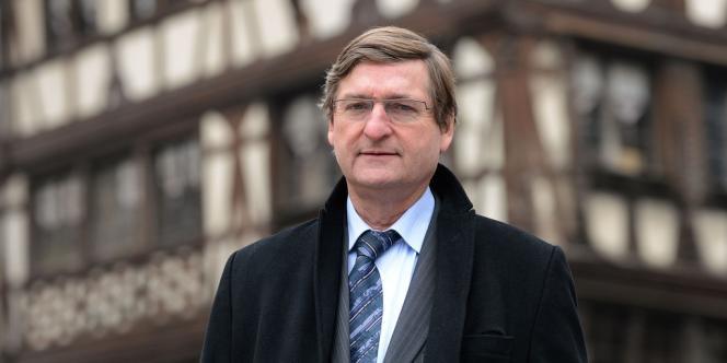 Francis Rol-Tanguy, le 28 mars à Strasbourg.