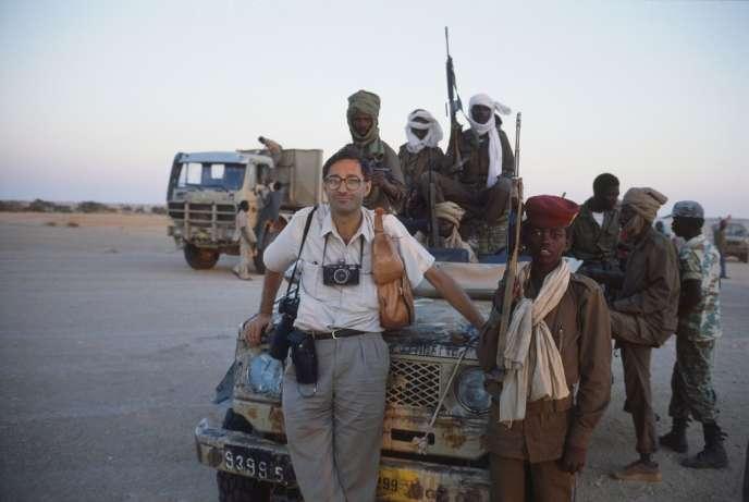 Benoît Gysembergh au Tchad, en 1990.