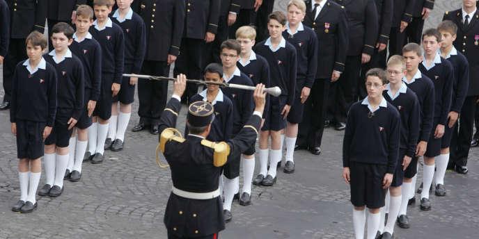 Les Petits Chanteurs à la croix de bois, le 14 juillet 2007.