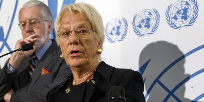 Dimanche, Carla Del Ponte a déclaré que des insurgés syriens s'étaient servis de gaz sarin, s'appuyant sur des témoignages recueillis par les enquêteurs de l'ONU.