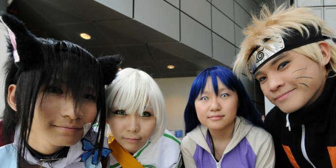 La série pour adolescents Naruto est l'une des plus consultées illégalement en ligne.