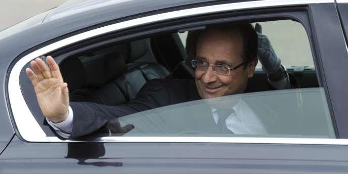 François Hollande, le 3 mai.