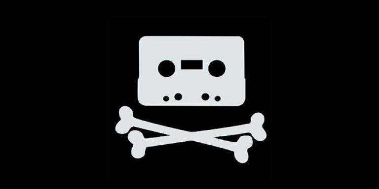 Un logo détourné de The Pirate Bay.