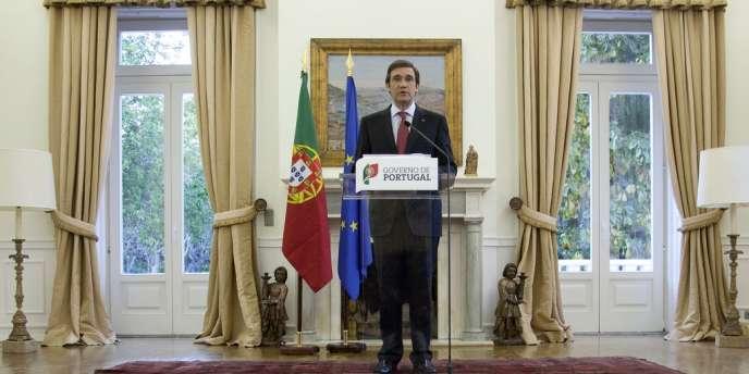 Le premier ministre portugais Pedro Passos Coelho, le 3 mai 2013.