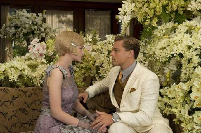 Carey Mulligan et Leonardo DiCaprio dans le film américain de Baz Luhrmann,