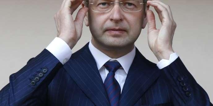 Dmitri Rybolev, le patron russe de Monaco, le 27 février 2008.