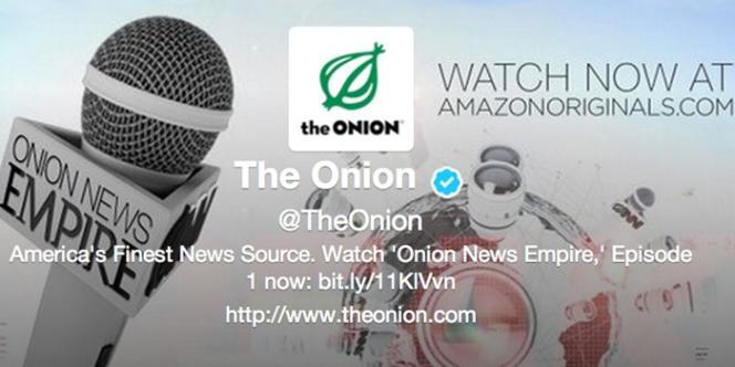 Le compte Twitter du site satirique The Onion a été piraté lundi 6 mai.