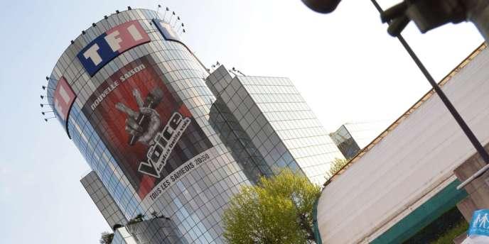 La tour de TF1 à Boulogne-Billancourt.