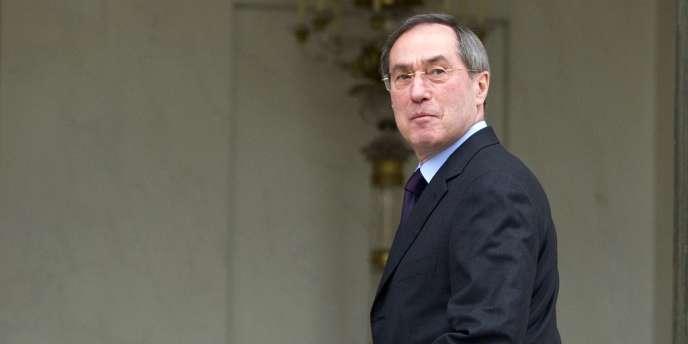 Claude Guéant le 18 avril 2012, alors ministre de l'Intérieur.