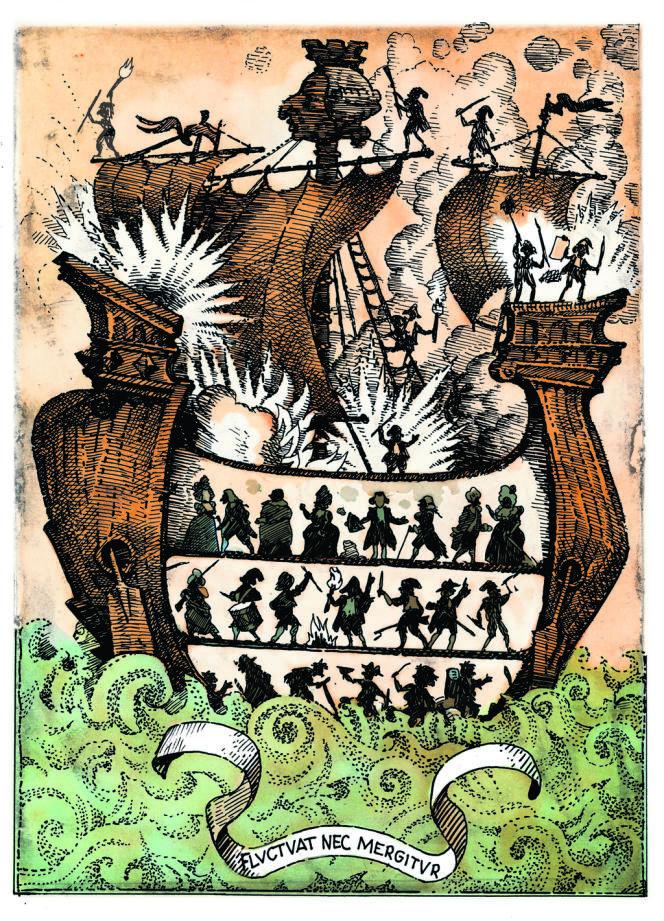 Illustration de Sergio Aquindo pour