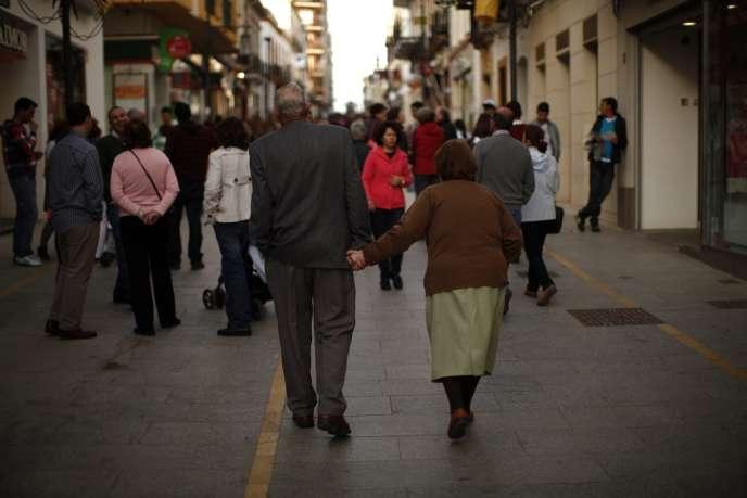 Près de Malaga, en Espagne, le 12 avril.