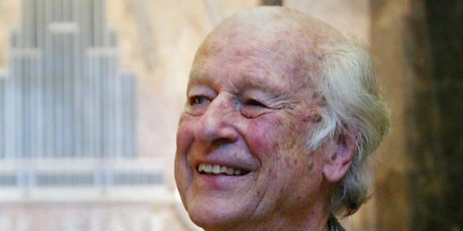 Le producteur et spécialiste des effets spéciaux Ray Harryhausen à New York, le 15 mai 2004.