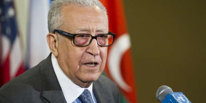 Lakhdar Brahimi, l'émissaire de l'ONU et de la Ligue arabe sur la Syrie.