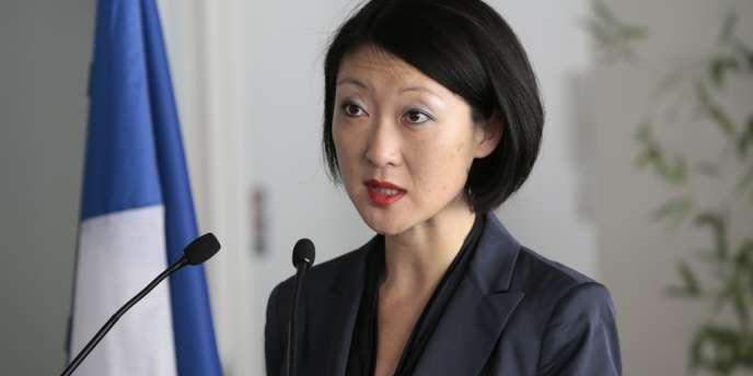 Fleur Pellerin, ministre de l'économie numérique et des petites et moyennes entreprises, le 25 avril.