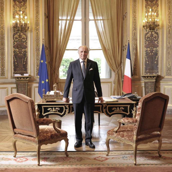 Laurent Fabius, le 8 mai à Paris.