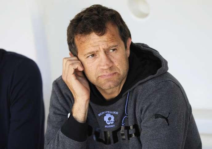 L'entraîneur mène pour la troisième année consécutive Montpellier en phase finale du Top 14.