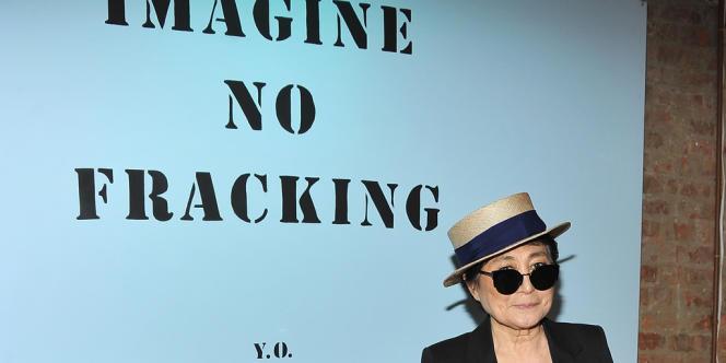 Yoko Ono, le 19 avril à New York.