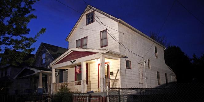 La maison d'Ariel Castro, à Cleveland, où trois jeunes femmes ont été séquestrées pendant une dizaine d'années.
