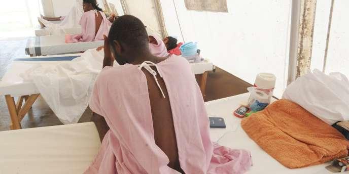 Au total plus de 650 000 personnes ont été touchées par le choléra en Haïti depuis 2010.