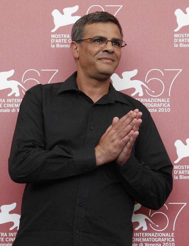 Le réalisateur Abdellatif Kechiche lors du 67e Festival du film de Venise, le 8 septembre 2010.
