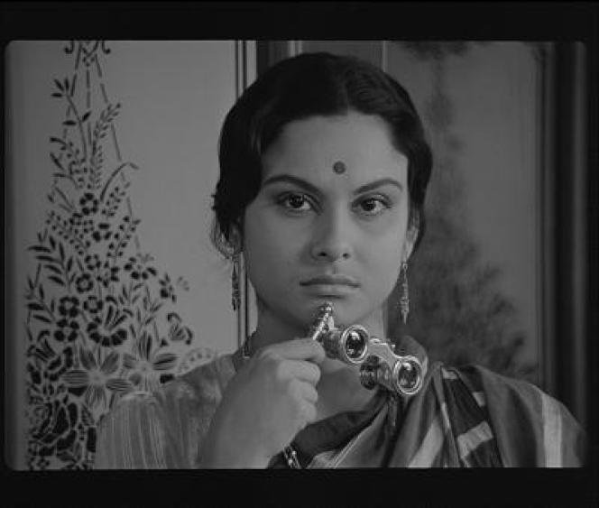 Une scène du film indien de Satyajit Ray,