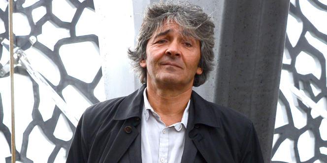 L'architecte Rudy Ricciotti devant le MuCEM, à Marseille, le 2 avril 2013.