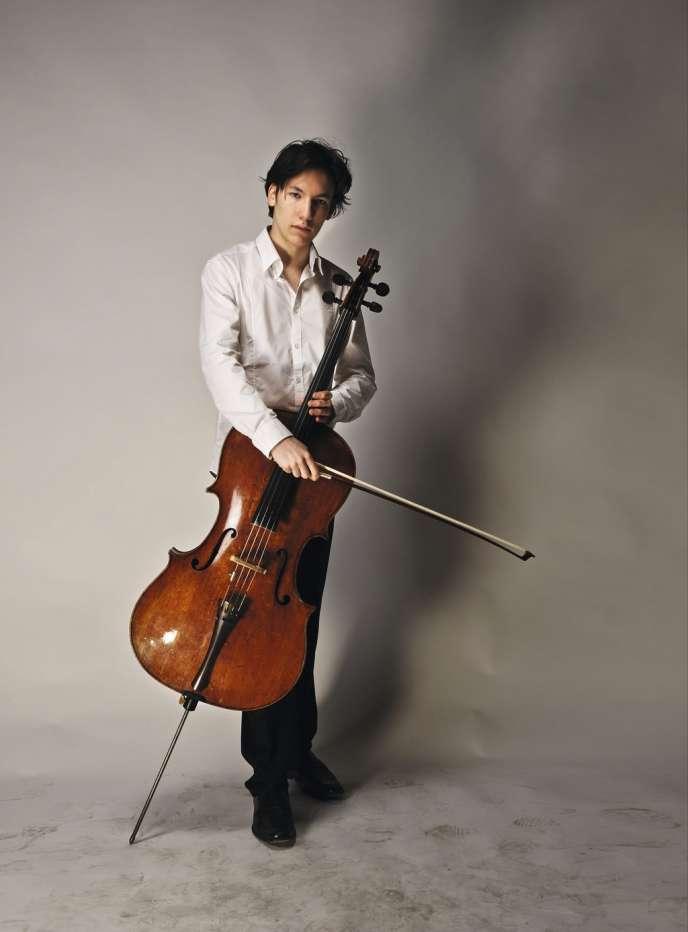 Le jeune prodige du violoncelle, Edgar Moreau.