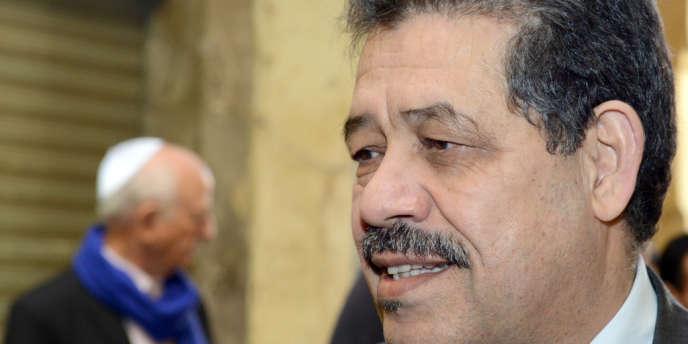 Hamid Chabat, maire de Fès et chef du parti conservateur Istiqlal, allié des islamistes, en février à Fès.