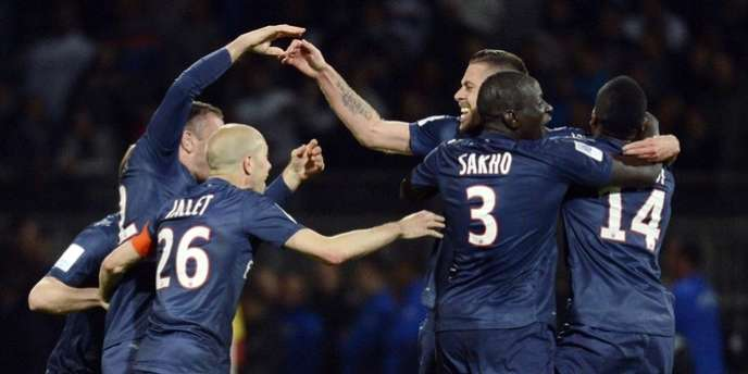 Le PSG est sacré champion de France.