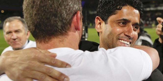 Le propriétaire qatari du PSG Nasser Al-Khelaifi.
