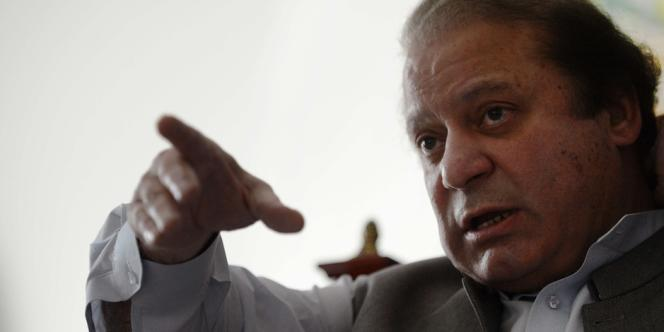 Nawaz Sharif, le 13 mai à Lahore.