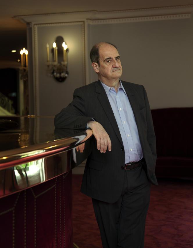 L'actuel directeur du Théâtre de Marigny, Pierre Lescure.