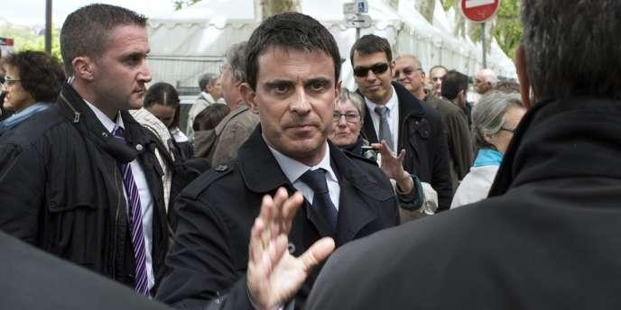 Le ministre de l'intérieur, Manuel Valls, le 11 mai.
