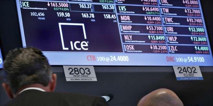 L'Américain ICE a dévoilé fin décembre une offre de 8,2 milliards de dollars pour racheter NYSE Euronext.