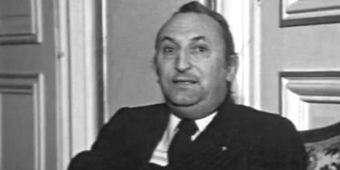 André Bord en 1976