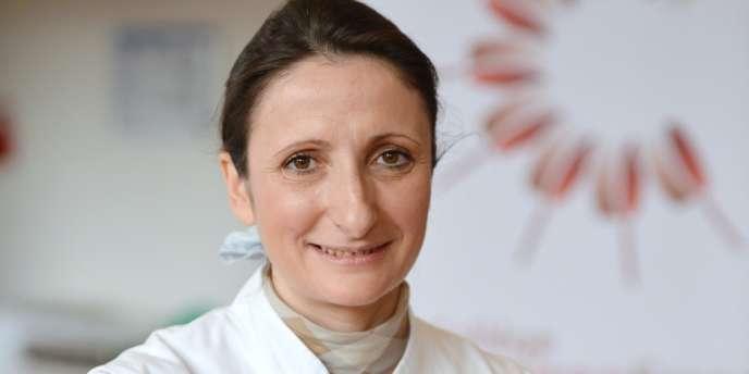 La chef triple étoilée Anne-Sophie Pic.
