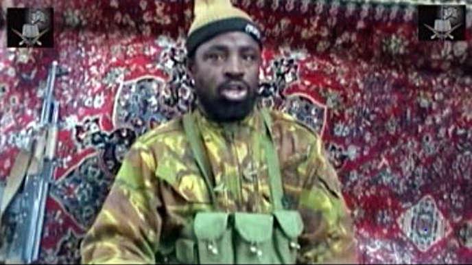 Capture d'écran datée du 13 mai 2013 et montrant Abubakar Shekau, le chef présumé du groupe islamiste Boko Haram.