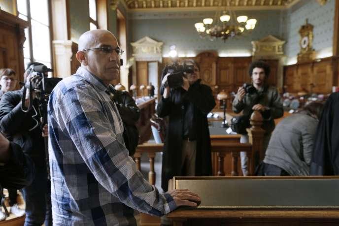 Abdelkader Azzimani, mercredi devant la Cour de révision.
