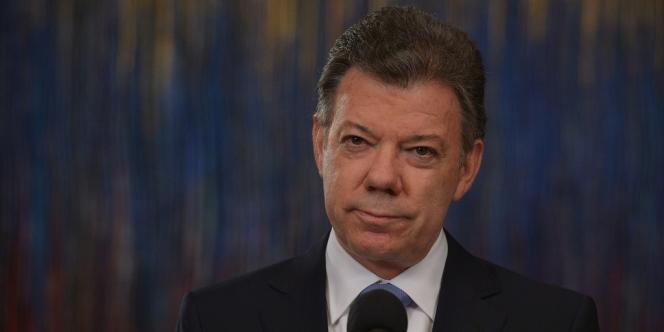 Le président colombien, Juan Manuel Santos, le 5 mars à Bogota.