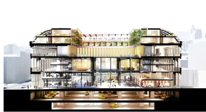 La restructuration de la poste de la rue du Louvre, située en plein coeur de paris, va être confiée au cabinet d'architecture français de Dominique Perrault.