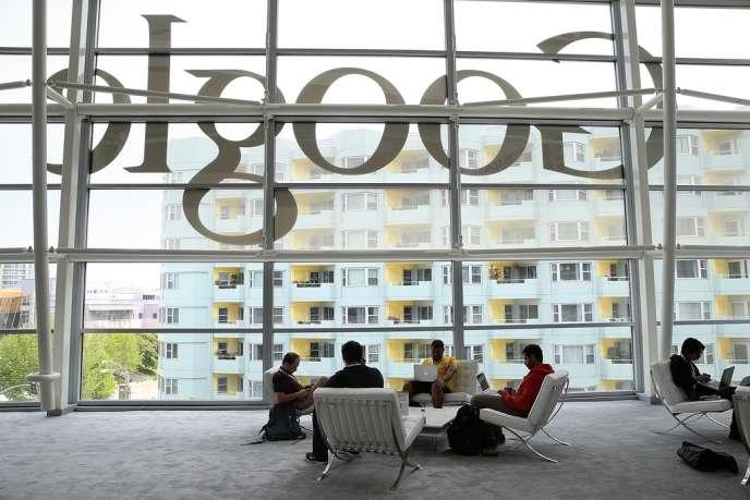 Lors d'une conférence organisée par Google, à San Francisco, en mai 2013.