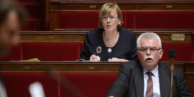 Marie-George Buffet et André Chassaigne, en mai 2013.