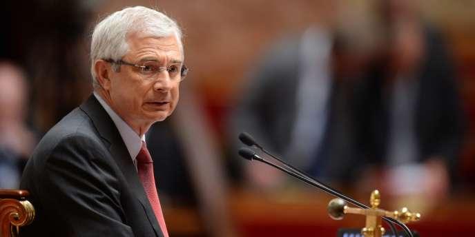 Le président de l'Assemblée nationale, Claude Bartolone, le 14 mai 2013.