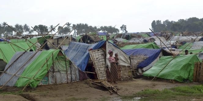 Dans un camp de Sittwe, le 15 mai.