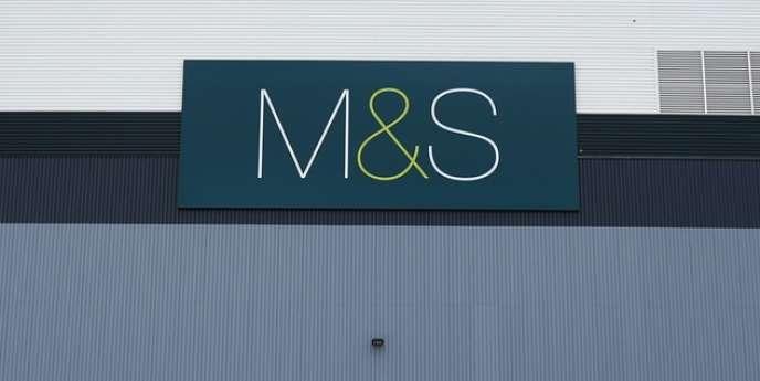 Un entrepôt Marks & Spencer au Royaume-Uni.